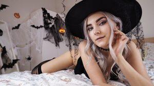 ดูหนังโป๊ออนไลน์ฟรี Cute Horny Witch Gets Facial and Swallows Cum – Eva Elfie ดูหนังโป๊ subthai
